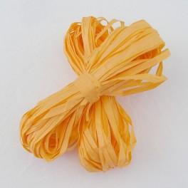 Papírové lýko světle oranžové 20 m